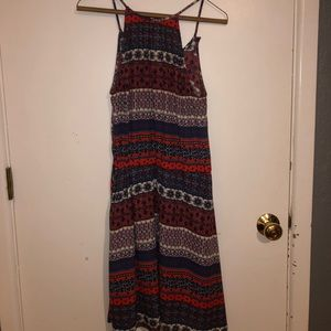 Collective Concepts mid-length printed dress
